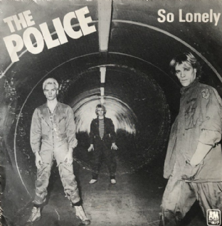 "Police (The) ‎- So Lonely (7"") (VG/G+)"